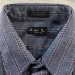 Christian Dior button down shirt great condition!